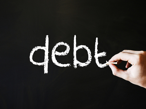 About The Woman - debts, credit cards